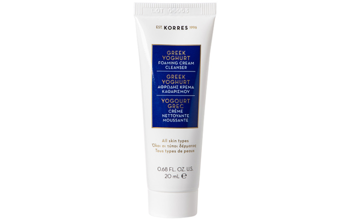 Korres Greek Yoghurt krema za čišćenje lica